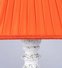 Beverly Studio Orange Poly Cotton Table Lamp