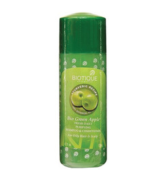 Biotique Green Apple Fresh Daily Purifying Cleanser & Conditioner -210  Ml