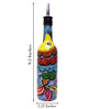 Bottles Not Empty Two Fish Multicolour 375 ML Oil Dispenser