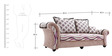 Boutique Three Seater Sofa by Looking Good Furniture