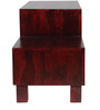 Madison Entertainment Unit in Passion Mahogany Finish by Woodsworth