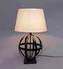 Kacey Table Lamp in Cream by Bohemiana