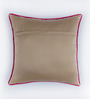 Bombay Mill Multicolour Matt Satin 16 x 16 Inch Printed Cushion Cover