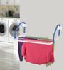 Bonita Rail Mate Steel & Plastic Blue Wall Mounted Clothes Dryer