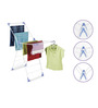 Bonita Steel Wonderfold X-Wing Clothes Drying Stand Clips & Plastic Hanger Set