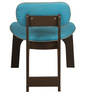 Boomerang Lounge Chair in Dark Brown Wood Polish by DesignBar