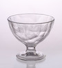 Bormioli Rocco Diamond Transparent Glass 360 ML Dessert Bowl - Set Of 6