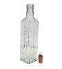Bormioli Rocco Fiori Clear Glass 500 ML Bottle - Set of 2