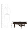 Boston Center Table in Black Colour by HomeTown