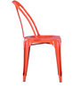 Bowen Metal Chair in Orange Color by Bohemiana