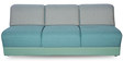 Broadway Sofa Set in Teal Green Colour by Godrej Interio