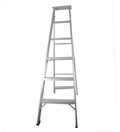 BRANCLEY ALUMINIUM 6 STEP DUAL PURPOSE 6.3 FT LADDER