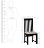 Amarillo Dining Chair in Espresso Walnut Finish by Woodsworth
