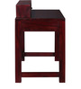 Bothell Solid Wood Study & Laptop Table in Passion Mahogany Finish by Woodsworth