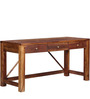 Bothell Solid Wood Study & Laptop Table in Provincial Teak finish by Woodsworth