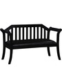 Tytler Bench in Espresso Walnut Finish by Amberville