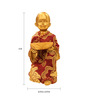Browse House Brown & Gold Polyresin Sp06 Cute Baby Monk