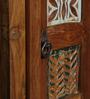 Brisco Cabinet in Distress Finish by Bohemiana