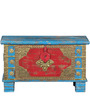 Samuelle (Trunk) with Repousse Work in Antique Finish by Bohemiana