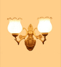 Bryden Wall Light in White by Amberville