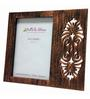 Butterfly Homes Brown Wooden 9 x 7.5 Inch Classy Single Photo Frame