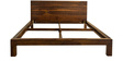 Cadbury King Bed in Warm Rich Finish by Inliving