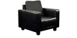 Calista (3 + 2 + 1) Sofa Set in Black and Grey Colour by CasaCraft