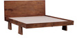 Trego King Bed in Provincial Teak Finish by Woodsworth