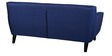 Carlito Three Seater Sofa in Blue Colour by CasaCraft