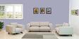 Catalunya Three Seater Sofa In Sandy Brown By CasaCraft