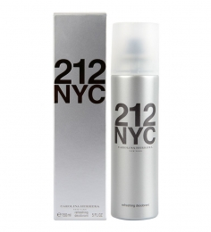 Carolina Herrera 212 NYC Refreshing Deodorant Spray for Women 150ml