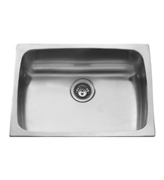 Carysil Elegance Gloss Stainless Steel Single Bowl Sink - (esg24188 )