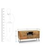 Cagli TV Unit in Natural Finish by The ArmChair