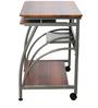 Caliber 203 Study Table in Walnut Finish by Godrej Interio