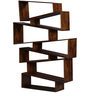 Freemont Ivy Book Shelf in Provincial Teak Finish by Woodsworth