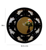 Calne Decorative Mirror in Black by Amberville