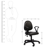 Cameron Office Chair in Black Colour by The Furniture Store