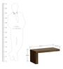 Camila L-Shape Bed Side Table in Henderson Oak Finish by CasaCraft