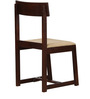 Henderson Dining Chair in Light Brown Finish by Woodsworth