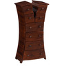 Huttington Chest of Drawer in Light Brown Finish by Woodsworth