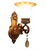 Capell Wall Light in Light Brown by Amberville