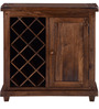 Illinois Bar Cabinet in Provincial Teak Finish by Woodsworth