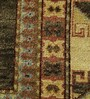 Carpet Overseas Charcoal Wool 121 x 94 Inch Kilim Design Hand Knotted Area Rug