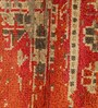 Carpet Overseas Rust & Grey Wool 104 x 66 Inch Kilim Design Hand Knotted Area Rug