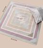Carpet Overseas Sage Cotton 35 x 35 Inch Geometric Area Rug