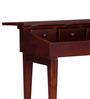 Cosmopolis Study & Laptop Table in Honey Oak Finish by Woodsworth