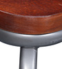 Escobal Stool in Dual Tone Finish by Bohemiana