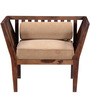 Kelso One Seater Sofa in Provincial Teak Finish by Woodsworth
