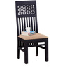 Bancroft Dining Chair in Espresso Walnut Finish by Amberville