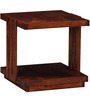 Amery End Table in Honey Oak Finish by Woodsworth